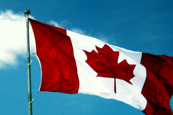 Canadian flag - (Photo by Spatial Mongrel)